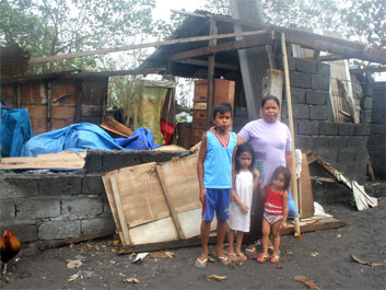 Relief for Typhoon-Affected Families