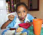 Malnutrition rehabilitation helped save Lilibeth, who only weighed 28-pounds at age 6.