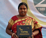 Children International Presents Pampa Sinha With the Inspire Award™