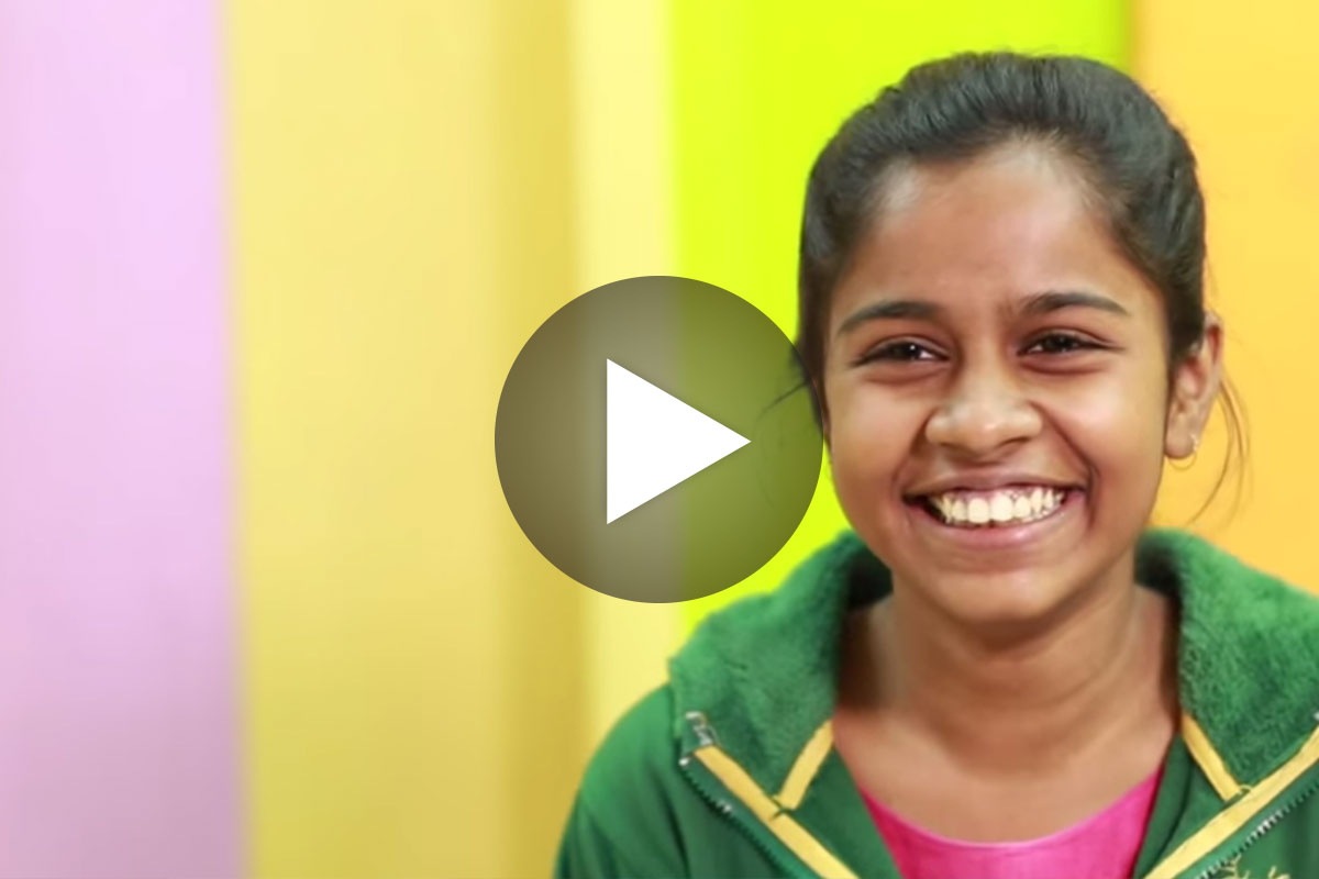 Watch this video to see how a young woman's life was transformed by the self-confidence she found in CI's programs.