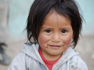 Fight child poverty in Ecuador, South America, by sponsoring a child through Children International