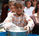 Water, Sanitation and Hygiene program providing clean water to children in poor communities