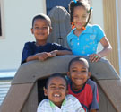 Community support center providing a safe place for children in poverty to play and learn